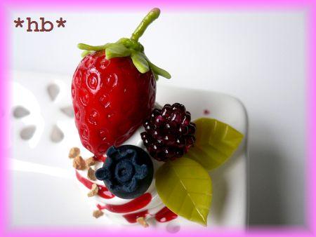 苺タルト flowerアクセトレイ フルーツ10.07