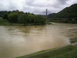 20110531川の水 (゜ロ゜;三;゜ロ゜)