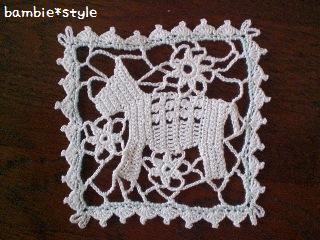 編み編みおウマさん♪