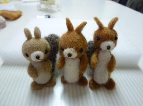 羊毛リス2
