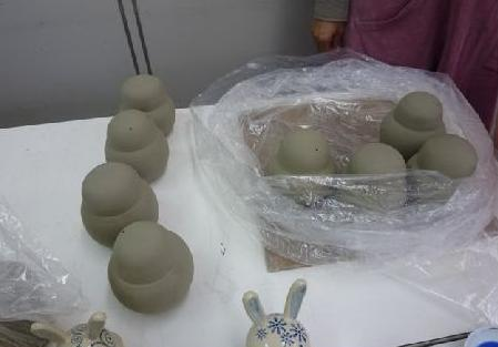 陶芸ウサギ3