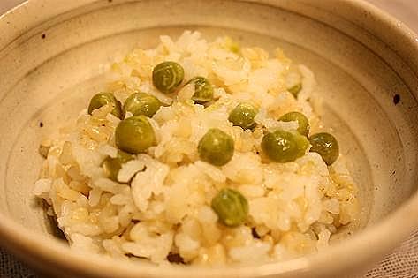 玄米豆ご飯♪