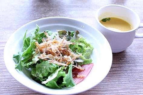 サラダとスープ♪