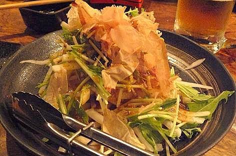 水菜と大根のサラダも♪