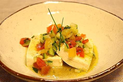 サラダ豆腐1♪