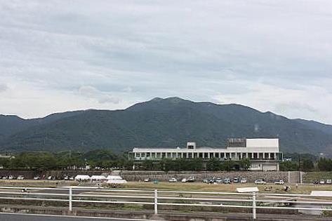 遠賀川堤防から♪