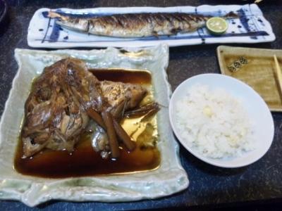 140901鮨しら川ランチ1000円鯛の荒煮
