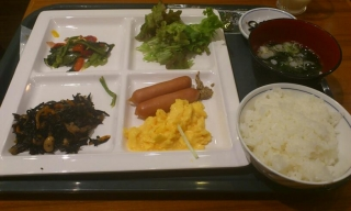 最終日の朝食