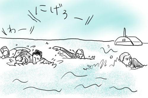 赤い珊瑚礁2