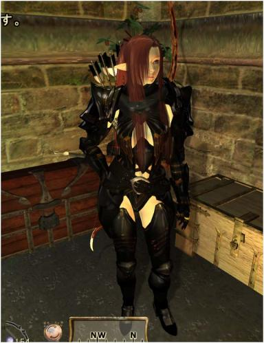 HGEC Dark Illusion Armor