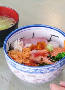 海鮮丼ー1