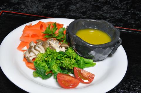 野菜とアンチョビ