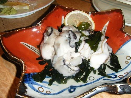 根室食堂 牡蠣酢