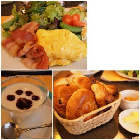バイロンさんの朝食♪