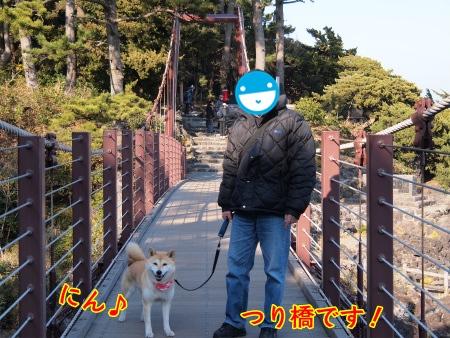 つり橋で♪