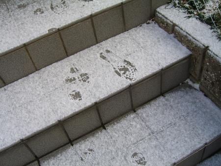 私の足跡!