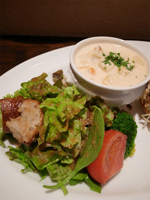 120407OKADA-Eランチ・サラダとスープ