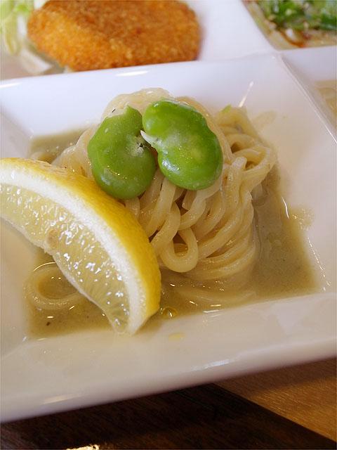 120408奏-ランチセット・そら豆スープ