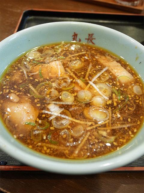 120408丸和尾頭橋-嘉六つけ麺ヌル・つけ汁