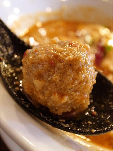 120519ジャッキー麺-激辛鶏担担麺・肉団子