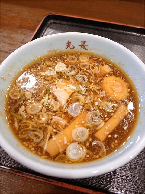 120604丸和尾頭橋-嘉六つけ麺+穴子天ぷら・つけ汁