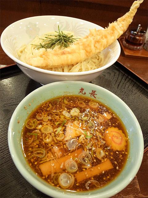 120604丸和尾頭橋-嘉六つけ麺+穴子天ぷら