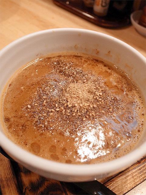 120622白神-鶏ちゃんベトつけ麺・つけ汁