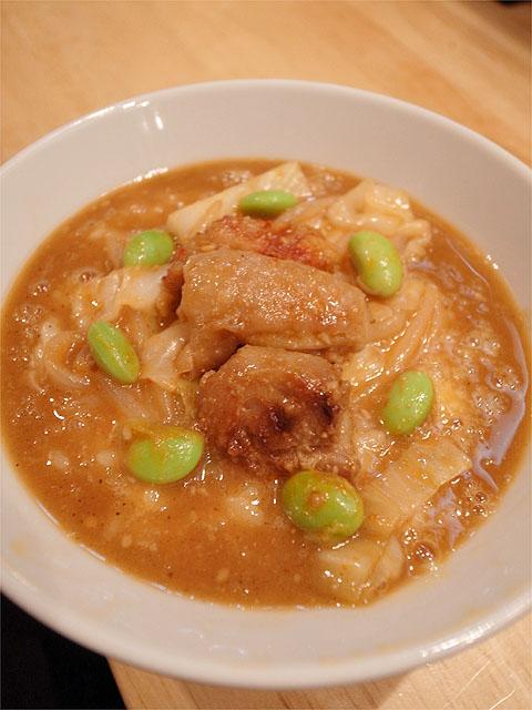 120622白神-鶏ちゃんベトつけ麺・TKG雑炊