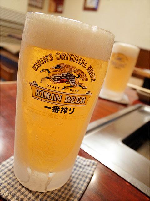 120616一心-ビール
