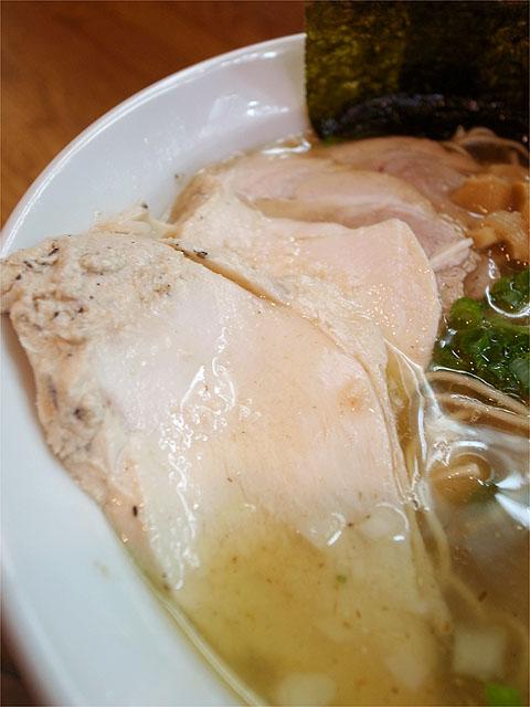 120701月麺-特製らーめんしお・鶏チャーシュー