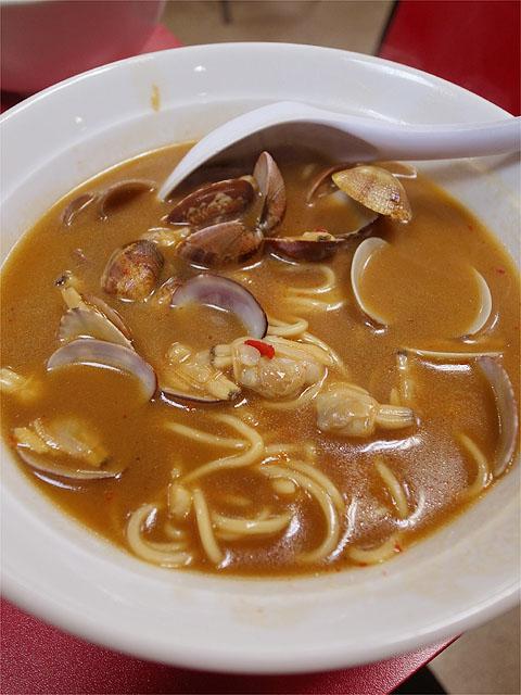 120627味仙-アサリ麺