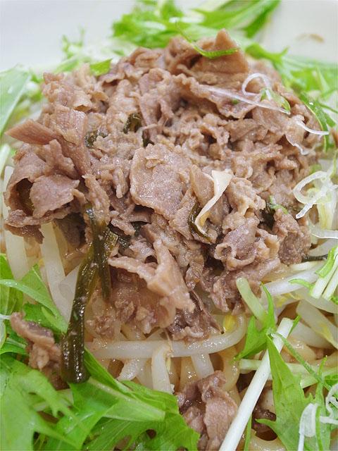 120615拉ノ刻岐阜-スタミナ肉まぜそば2・肉