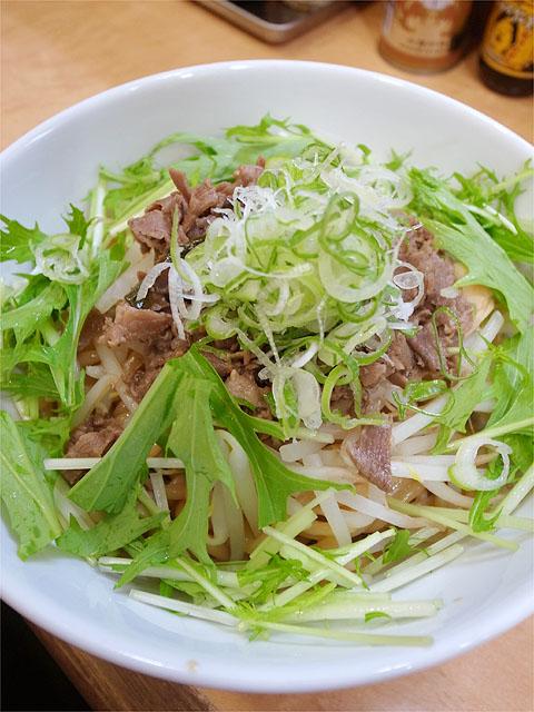 120615拉ノ刻岐阜-スタミナ肉まぜそば2