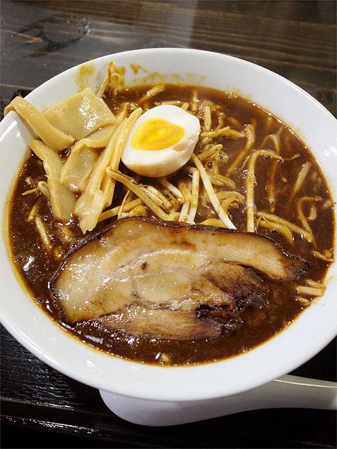120612麺屋らいこう-濃厚柚醤油ラーメン750円