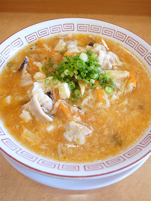 120724拉ノ刻岐阜-冷やし酸辣麺