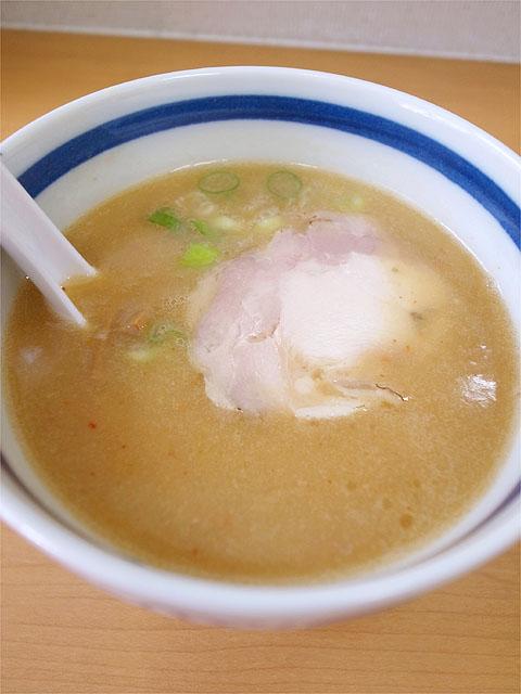 120716マルト屋-鶏だしつけ麺・つけ汁