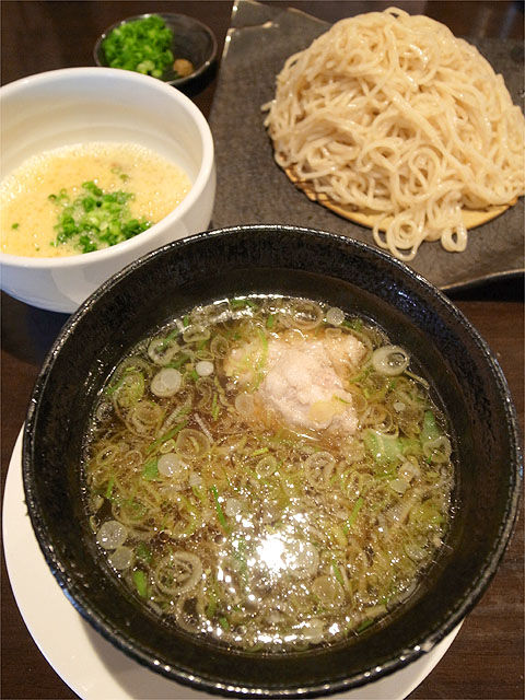120707江戸YA-豚しゃぶつけ麺ふわとろ納豆