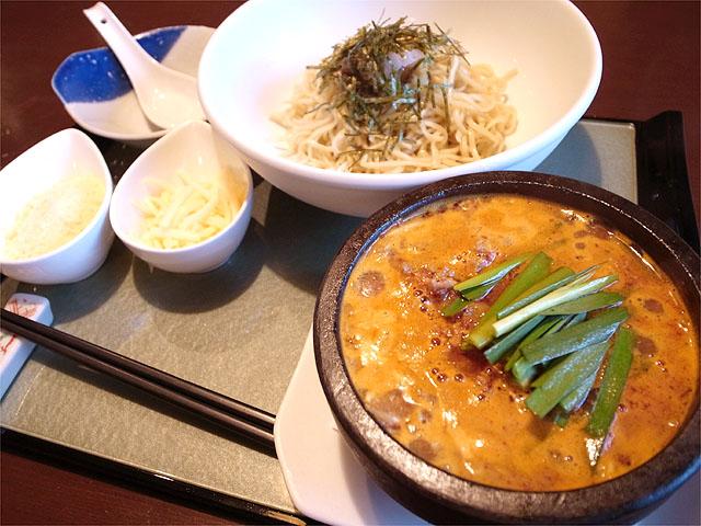 120720かかざん-石焼チーズつけ麺