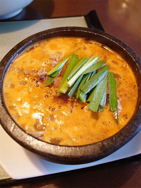 120720かかざん-石焼チーズつけ麺・つけ汁