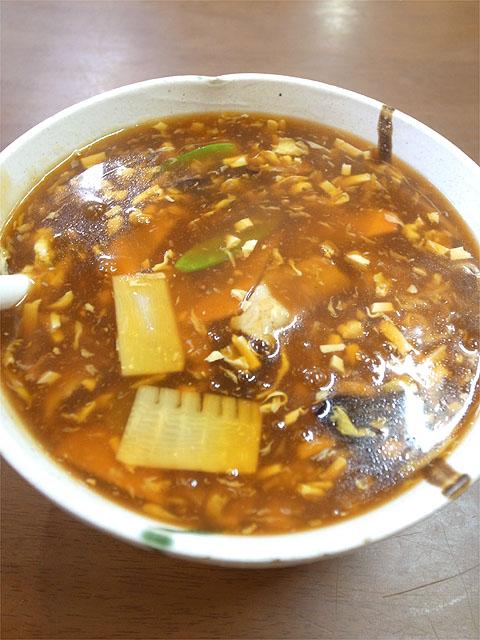 120721花杏-酢辣蛋花湯麺
