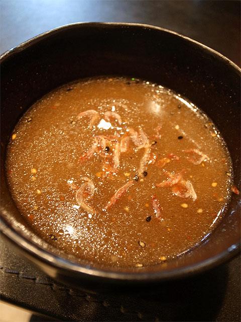 120725男前-つけ麺海老・つけ汁