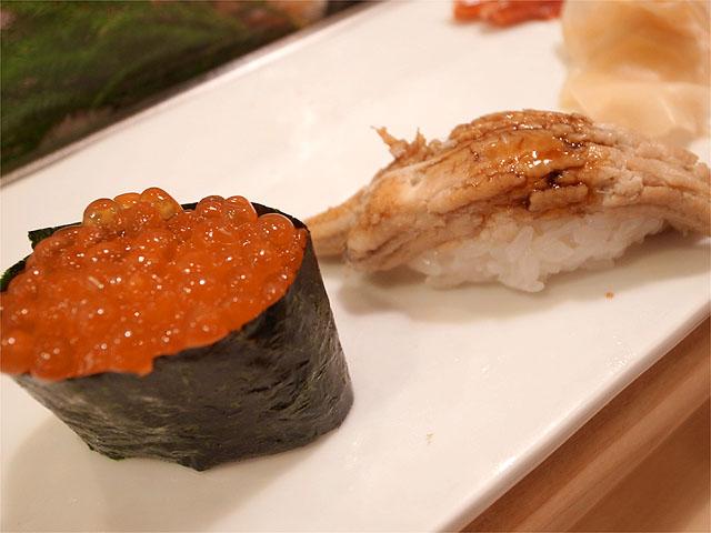 120825寿司清-イクラ・穴子