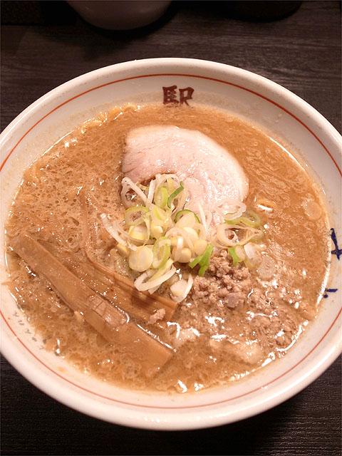 120825駅-味噌ラーメン