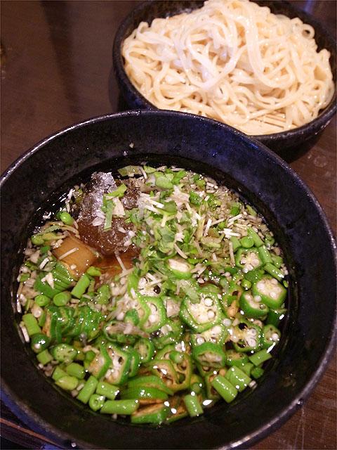 120810江戸YA-朝どり夏野菜の冷旨つゆのざるつけ麺