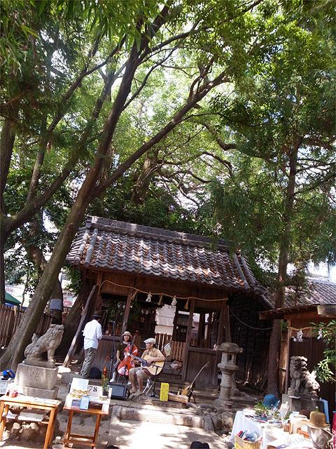 120804八幡神社-ライブ