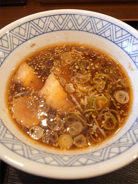 120813丸和尾頭橋-嘉六すだちつけ麺・つけ汁