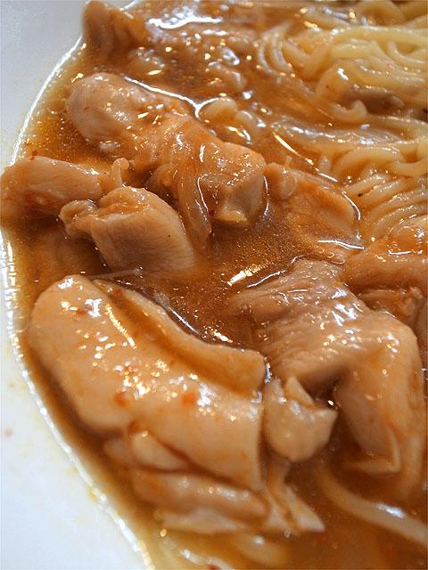 120924麻麻-秋の鶏ちゃんつけ麺・鶏ちゃん
