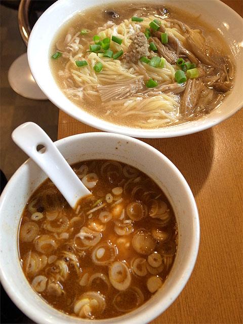 120924麻麻-秋の鶏ちゃんつけ麺