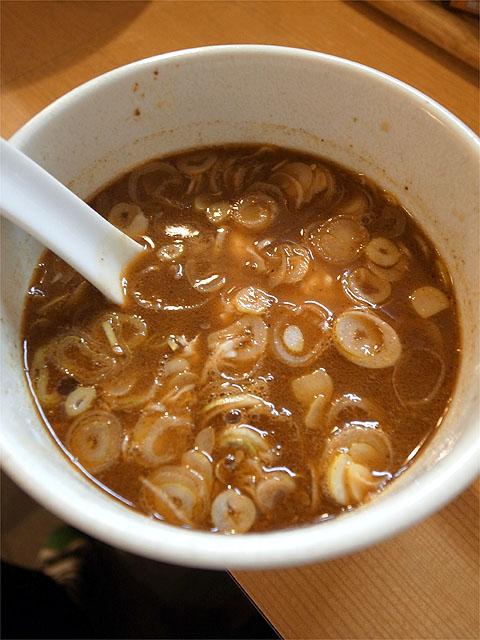 120924麻麻-秋の鶏ちゃんつけ麺・つけ汁