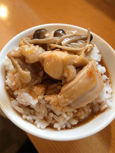 120924麻麻-秋の鶏ちゃんつけ麺・〆